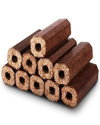 X10 Premium Eco Wooden Heat Logs. Fuel for Firewood,Open Fires, Stoves - Comes W - SustainTheFuture - 1