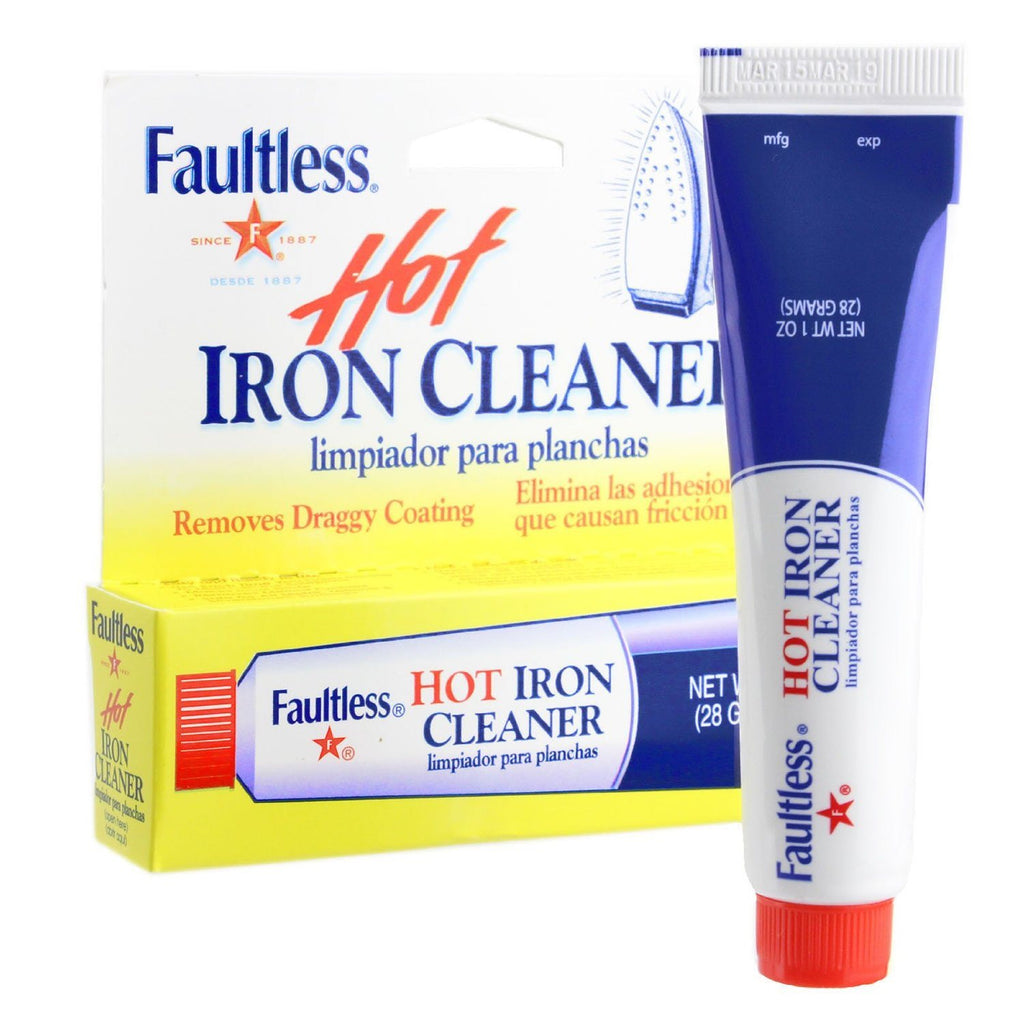 Faultless Hot Iron Soleplate Cleaner & Burn Remover Easy and Handy, Can Be Used To Remove Melted Webs, Fusibles - SustainTheFuture - 2