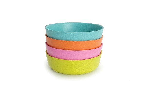 BIOBU by EKOBO Bambino 34529 Bowls Set 1 lagoon / mandarin / rose / lime - SustainTheFuture - 1