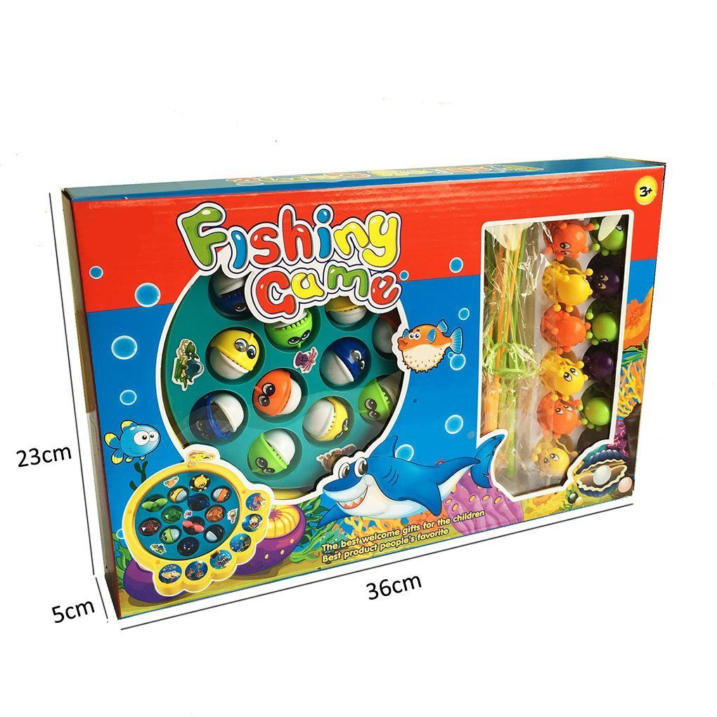 YIXIN Electric Musical Fishes and Octopus Fishing Game Toys Set for Kids 3 Years - SustainTheFuture - 4