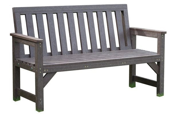 Outdoor Seat Bench Garden Furniture 2 Seater 100% Recycled Plastic - SustainTheFuture - 1