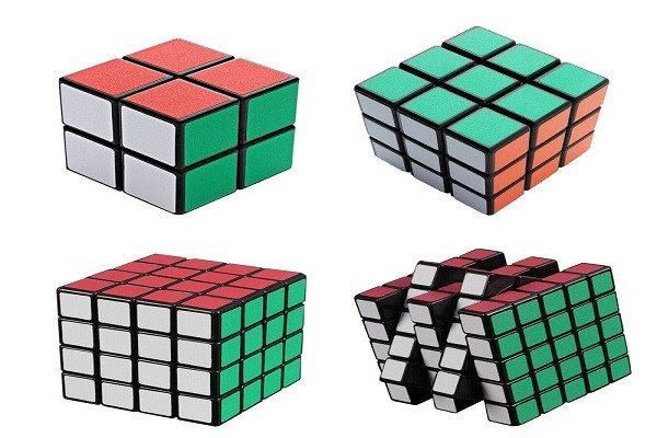 Magic Cube Puzzle A Pack of Four Cube New Better Life 2x2x2 3x3x3 4x4x4 5x5x5 Cu - SustainTheFuture - 2
