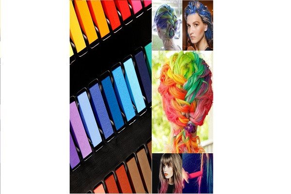 36 Color DIY Hair Chalk Temporary Hair Color Pastel Hair Dye Set Non-toxic - SustainTheFuture - 1