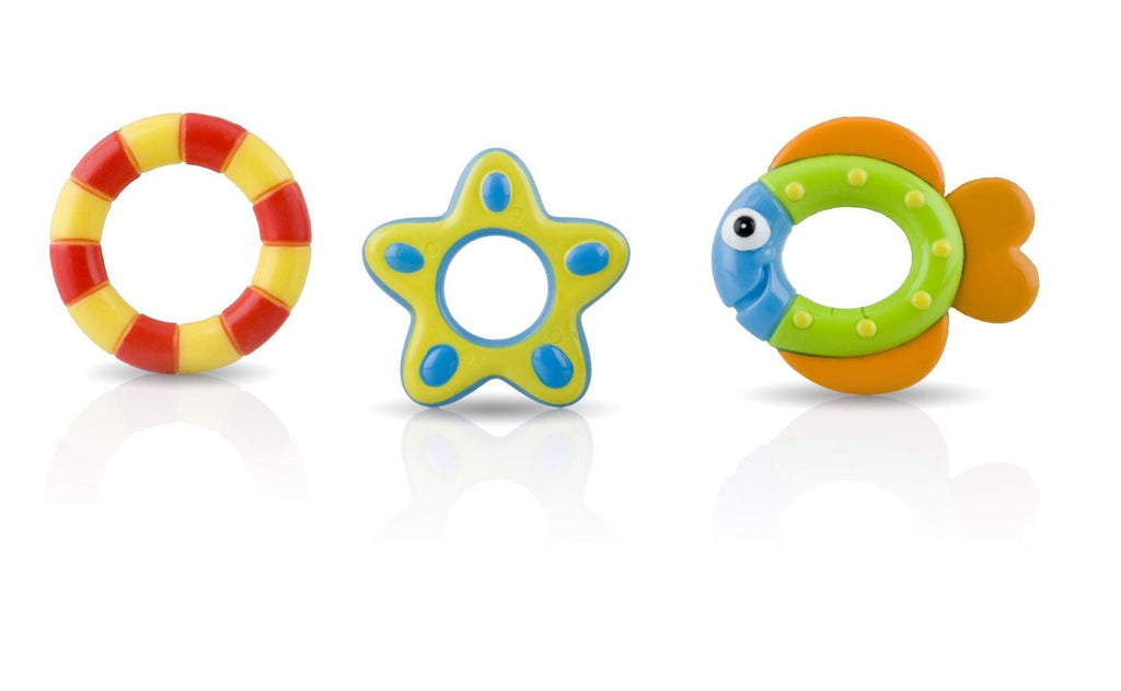 Nuby Octopus Floating Bath Toy (Multi-Coloured) Encourages counting - SustainTheFuture - 6