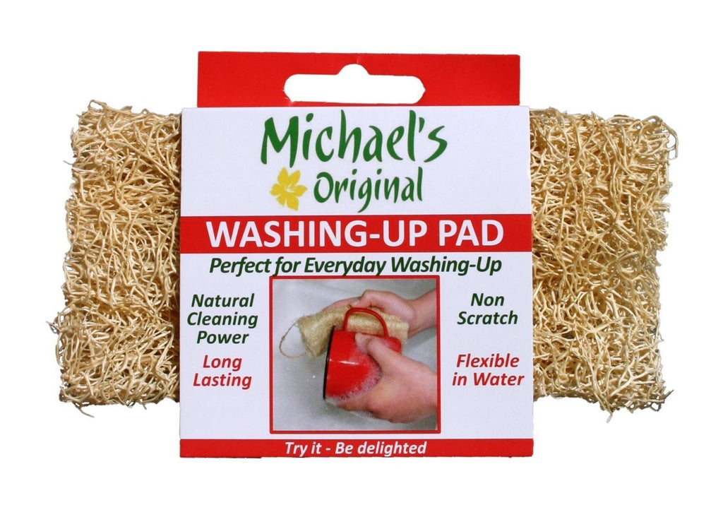 Michael's Original Washing Up Pad. Traditional way of washing-up in the Philippines - SustainTheFuture - 2
