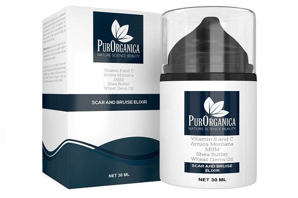PurOrganica SCAR AND BRUISE CREAM - Premium Removal Treatment for Old & New Scar - SustainTheFuture - 1