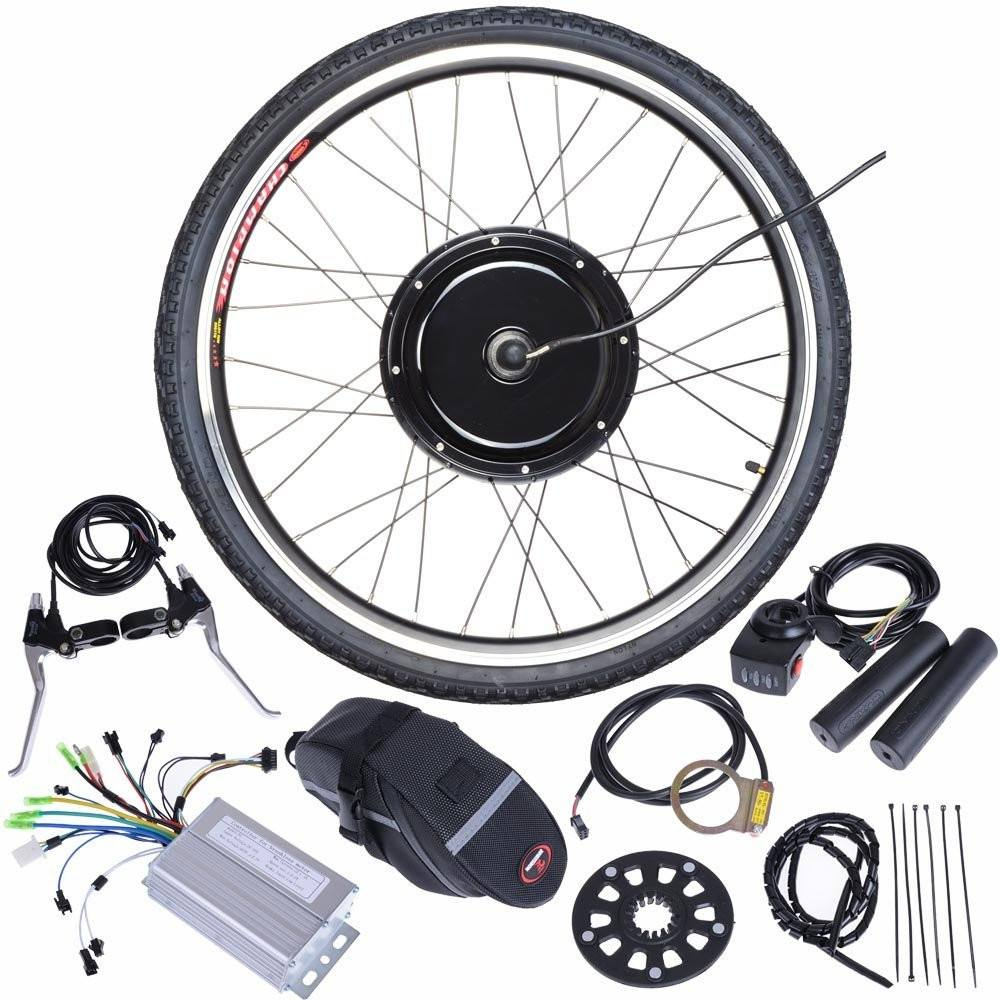 "ReaseJoy 36V500W 26"" Front Wheel Electric Bicycle Motor Kit E-Bike Cycling Hub Conversion - SustainTheFuture - 1"