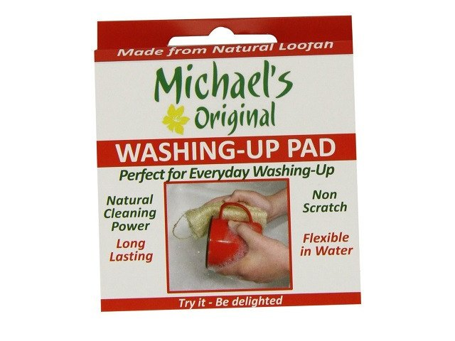 Michael's Original Washing Up Pad. Traditional way of washing-up in the Philippines - SustainTheFuture - 1