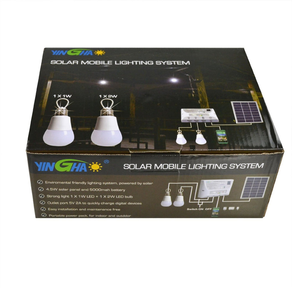 Portable Solar Mobile Lighting System Cellphone Home Emergency Lights Power Pack - SustainTheFuture - 9