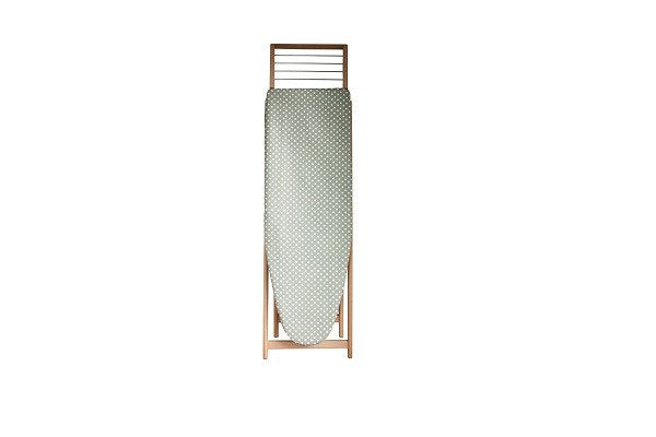 Madeleine Organic Cotton Ironing Board Cover Color: Sage - Strong organic cotton - SustainTheFuture - 1