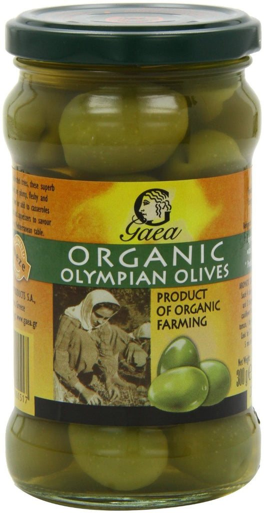 Gaea Organic Olympian Green Olives 300 g (Pack of 4) - Organically grown and pro - SustainTheFuture - 7