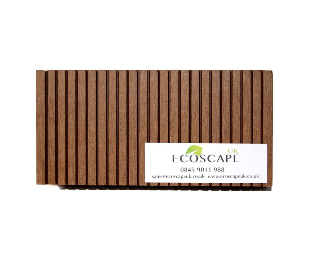Ecoscape UK Composite Decking Autumn 2.9m Length. Low maintenance; No need to pa - SustainTheFuture - 7