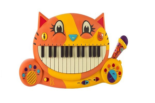 B Meowsic Music Set.  Lovely cat face with the key board in the mouth - 20 famil - SustainTheFuture - 1