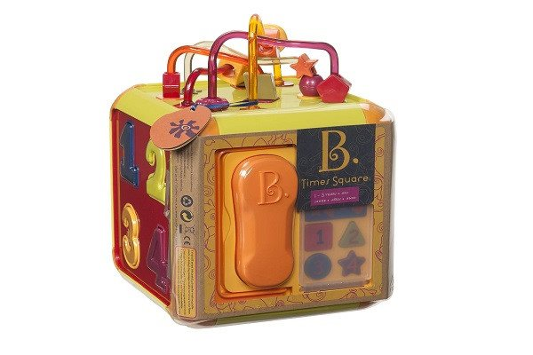 B Times Square Cube Toy. All 8 pieces store inside. Six sides of fun - Handy han - SustainTheFuture - 1