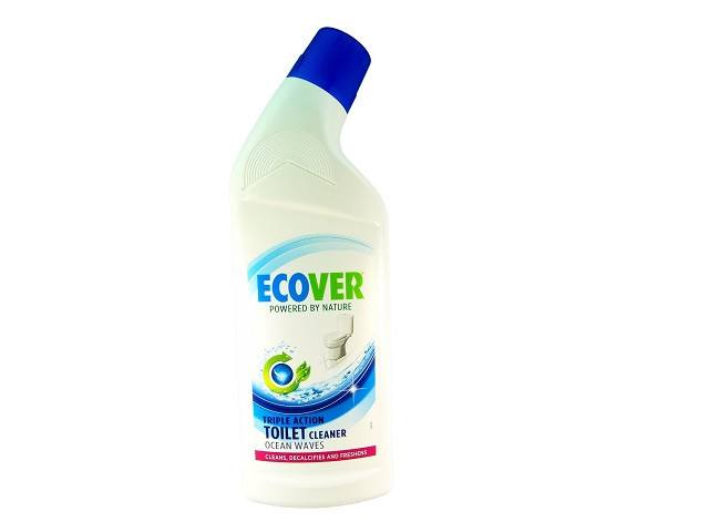 Ecover Toilet Cleaner Ocean Waves 750ml. Bottle - Plastic - Widely Recycled; Cap - SustainTheFuture - 1
