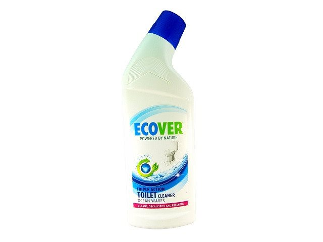 Ecover Toilet Cleaner Ocean Waves 750ml. Bottle - Plastic - Widely Recycled; Cap - SustainTheFuture - 2