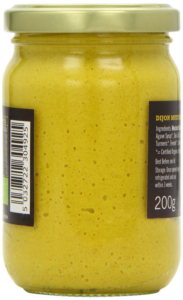 Biona Organic Dijon Mustard 200 g (Pack of 6) - Suitable for vegans, Contains certified organic and - SustainTheFuture - 3