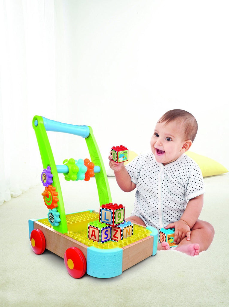Bkids Soft and Safe Busy Builder Wagon. Compatible with all major block brands - SustainTheFuture - 4