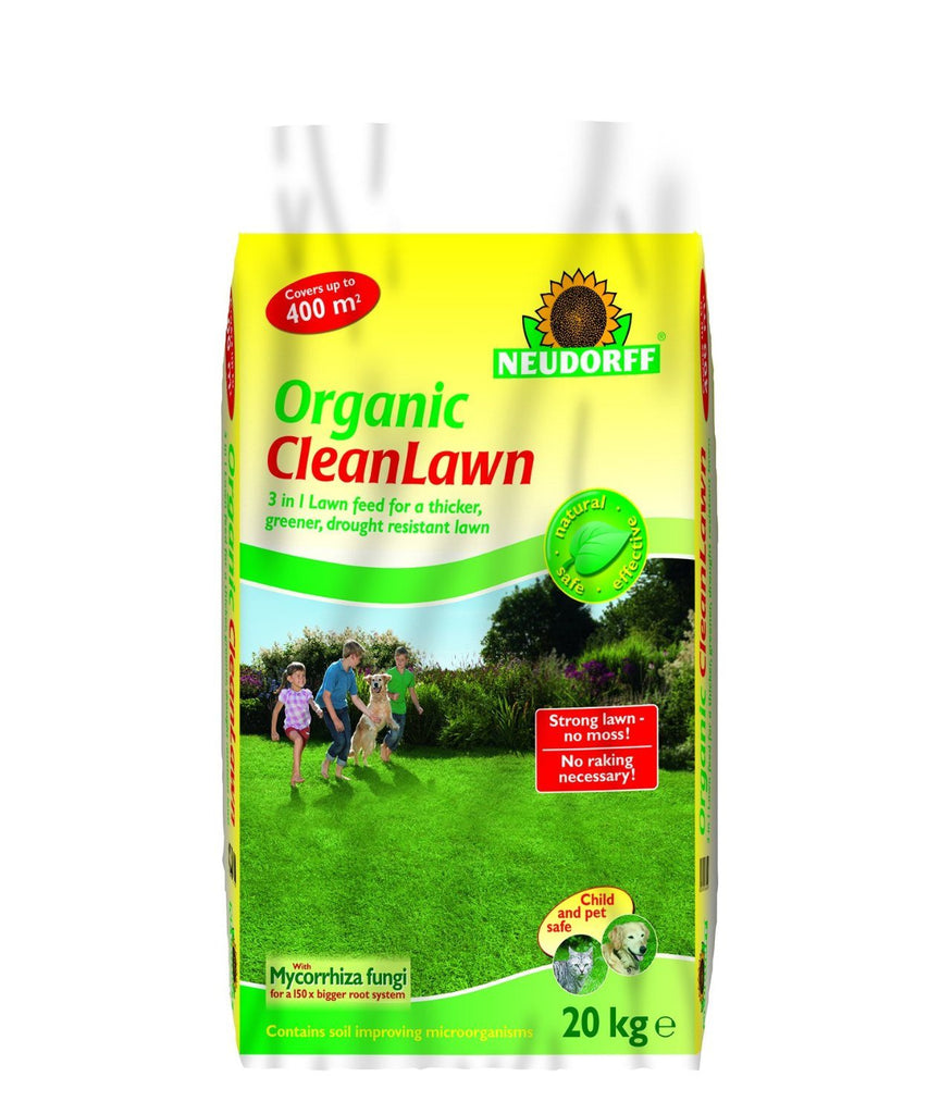 Neudorff CleanLawn Organic Lawn Feed and Improver 400 sqm, Fertilises the lawn, - SustainTheFuture - 2