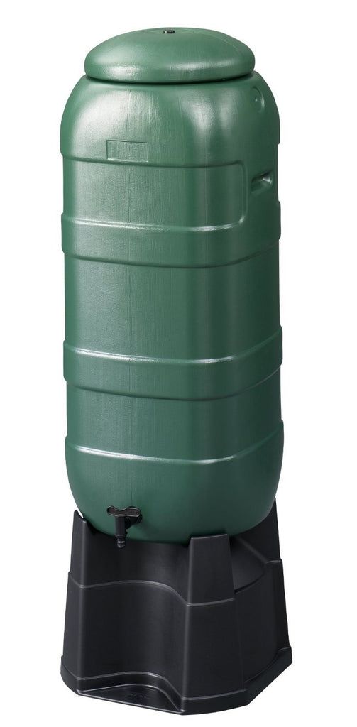 Be Green 100L Capacity Mini Rainsaver Water Butt Kit includes Butt/ Stand/ Diver - SustainTheFuture - 2