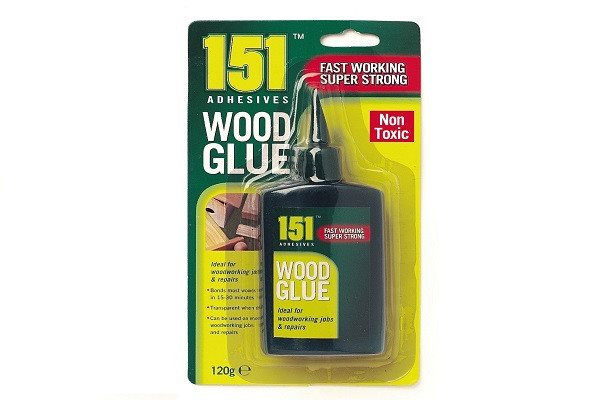 WOOD GLUE PVA FAST WORKING SUPER STRONG NON TOXIC120G - SustainTheFuture - 1