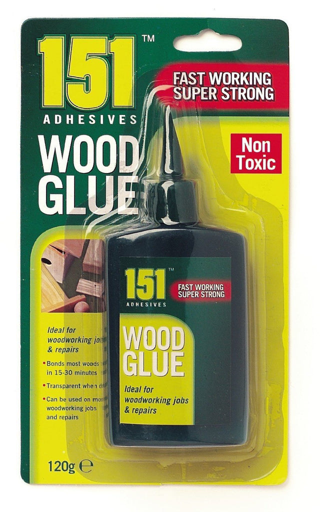 WOOD GLUE PVA FAST WORKING SUPER STRONG NON TOXIC120G - SustainTheFuture - 2
