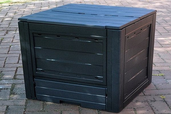 FunkyBuys® Garden Eco Compost Converter Bin 260L Capacity Compogreen Composter Recycling Box Garden Waste - SustainTheFuture - 1