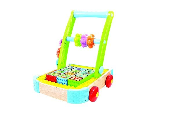 Bkids Soft and Safe Busy Builder Wagon. Compatible with all major block brands - SustainTheFuture - 1