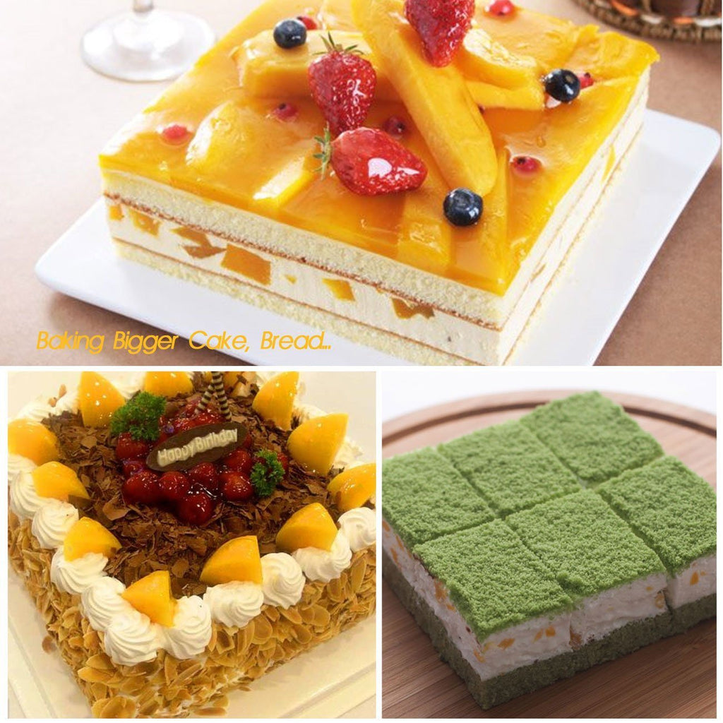 "Cake Bakeware,Silivo 1.5"" Deep Silicone Cake Moulds Square Baking Moulds - SustainTheFuture - 6"