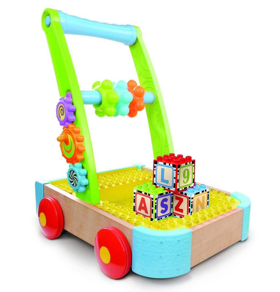 Bkids Soft and Safe Busy Builder Wagon. Compatible with all major block brands - SustainTheFuture - 2