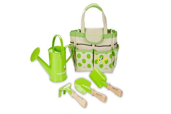 EverEarth Childrens Gardening Bag with Wooden Hand Tool Set EE33646 - SustainTheFuture - 1