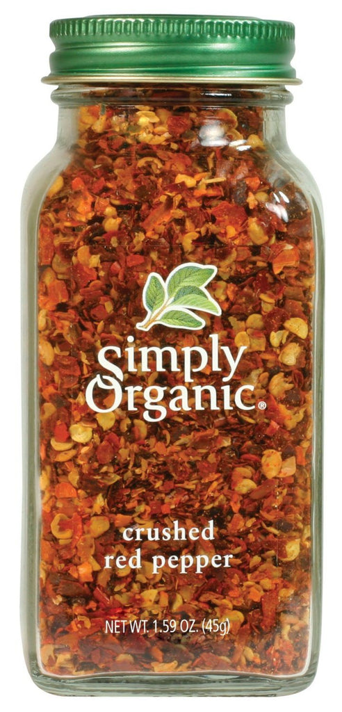 Simply Organic, Crushed Red Pepper, 1.59 oz (45 g) - Certified Organic by QAI - SustainTheFuture - 2