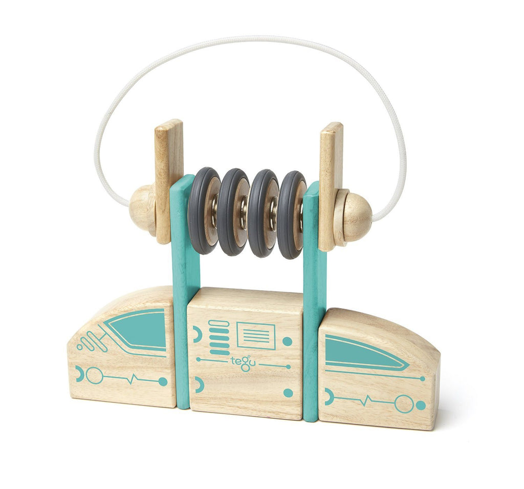 Tegu Circuit Racer Magnetic Wooden Block Set with Tegu's FUTURE sets - SustainTheFuture - 7