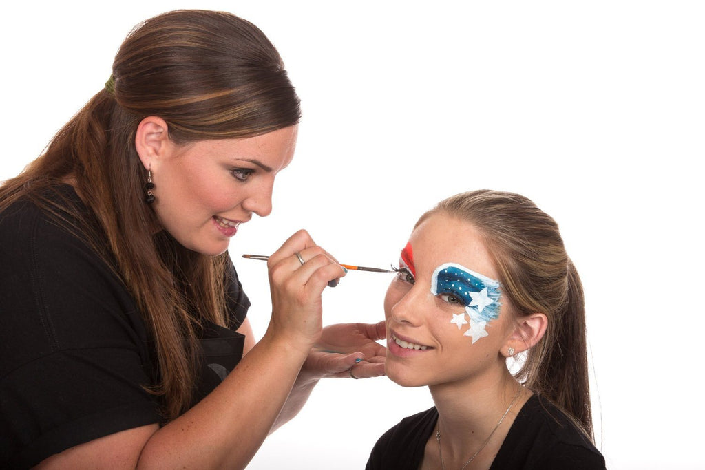 Face Painting Kit - Nontoxic And Irritation-Free - Paint Flags, Superheroes, Ani - SustainTheFuture - 2