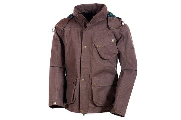 Target Dry Stratford Mens Waterproof Natural Cotton Jacket - SustainTheFuture