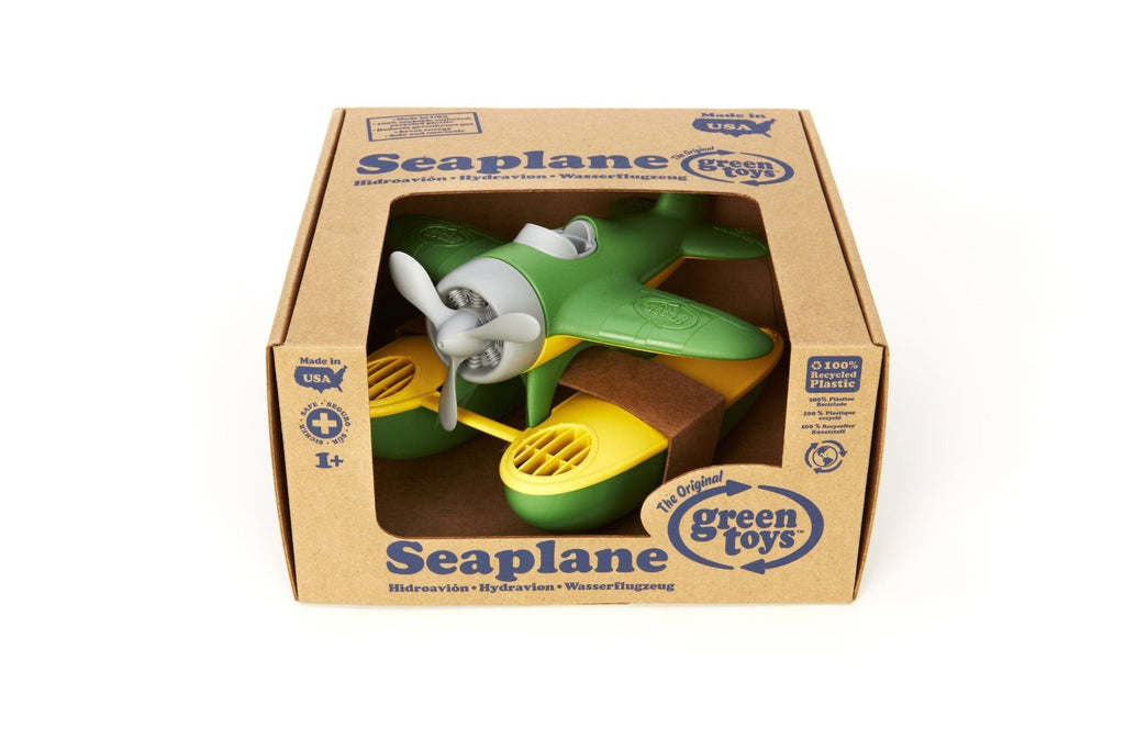 Green Toys SEAG - Seaplane (Green Wings) Safe, non-toxic; contains no BPA, PVC - SustainTheFuture - 3