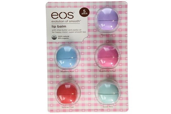 eos Organic Lip Balm, Passion Fruit, Blueberry, Strawberry Sorbet, Sumner Fruit - SustainTheFuture - 1
