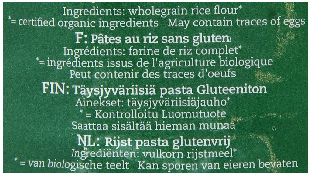 Amisa Gluten Free Penne Wholegrain Rice Organic 500 g (Pack of 5) - made from wh - SustainTheFuture - 5