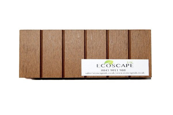 Ecoscape UK Composite Decking Autumn 2.9m Length. Low maintenance; No need to pa - SustainTheFuture - 1