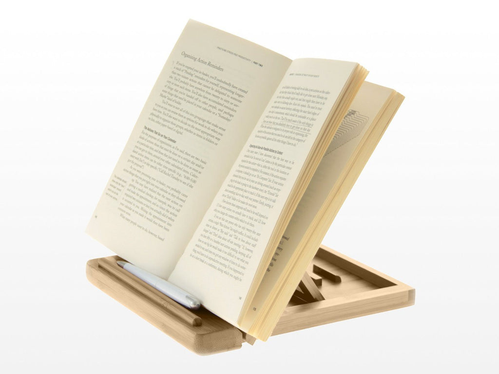 Adjustable iPAD Holder / Stand Desktop Organiser. Made of Eco-friendly Natural S - SustainTheFuture - 5