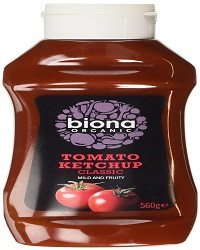 Biona Organic Classic Squeezy Ketchup 560 g (Pack of 4) -  70% organic tomatoes, - SustainTheFuture - 2