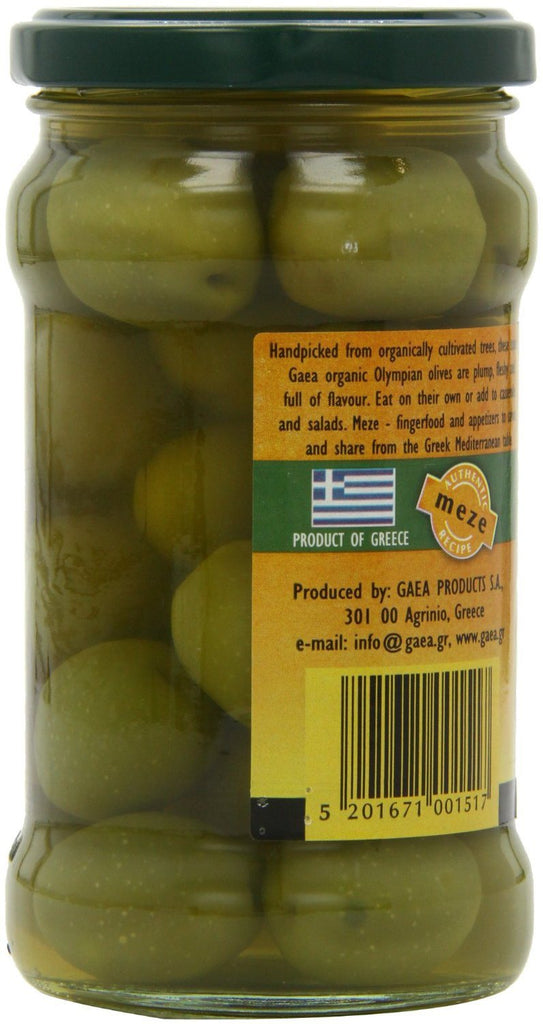 Gaea Organic Olympian Green Olives 300 g (Pack of 4) - Organically grown and pro - SustainTheFuture - 5