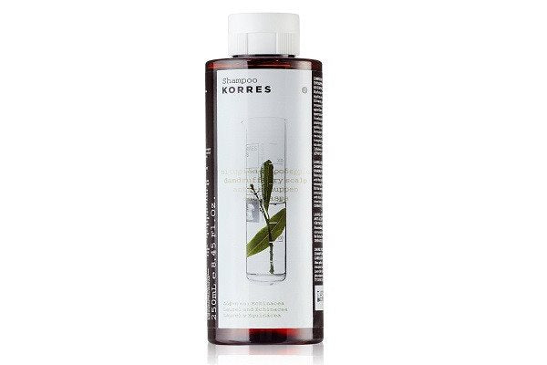 KORRES Shampoo Laurel and Echincea for Dry Scalps and Dandruff 250 ml - exfoliat - SustainTheFuture - 1