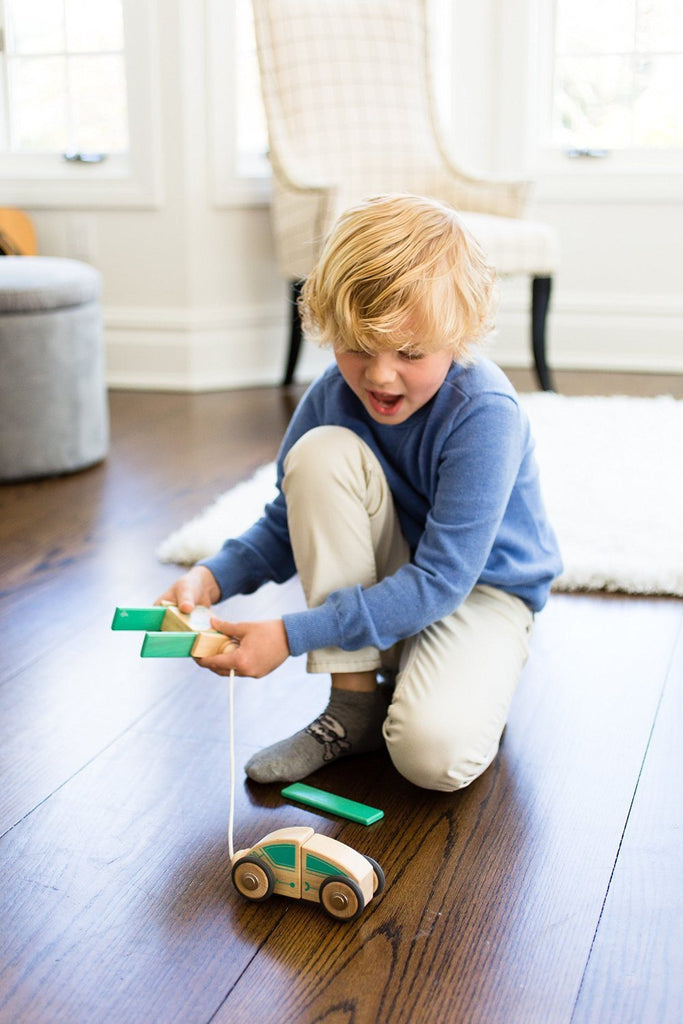 Tegu Circuit Racer Magnetic Wooden Block Set with Tegu's FUTURE sets - SustainTheFuture - 13