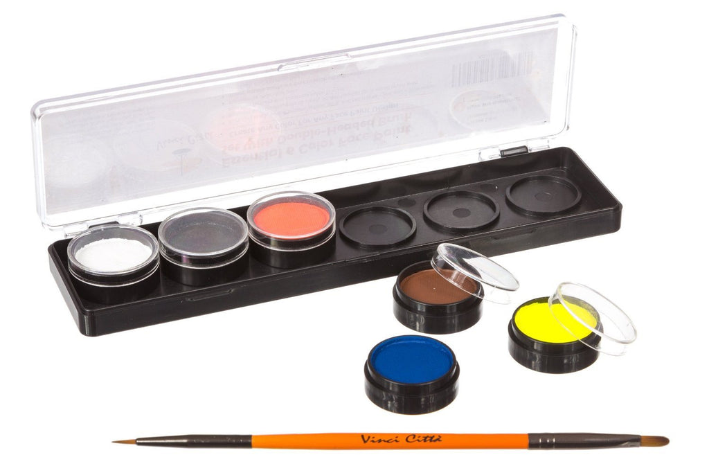 Face Painting Kit - Nontoxic And Irritation-Free - Paint Flags, Superheroes, Ani - SustainTheFuture - 3