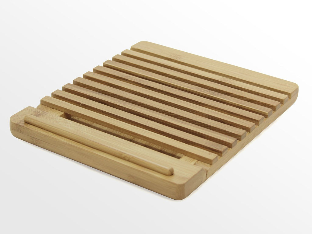 Adjustable iPAD Holder / Stand Desktop Organiser. Made of Eco-friendly Natural S - SustainTheFuture - 7