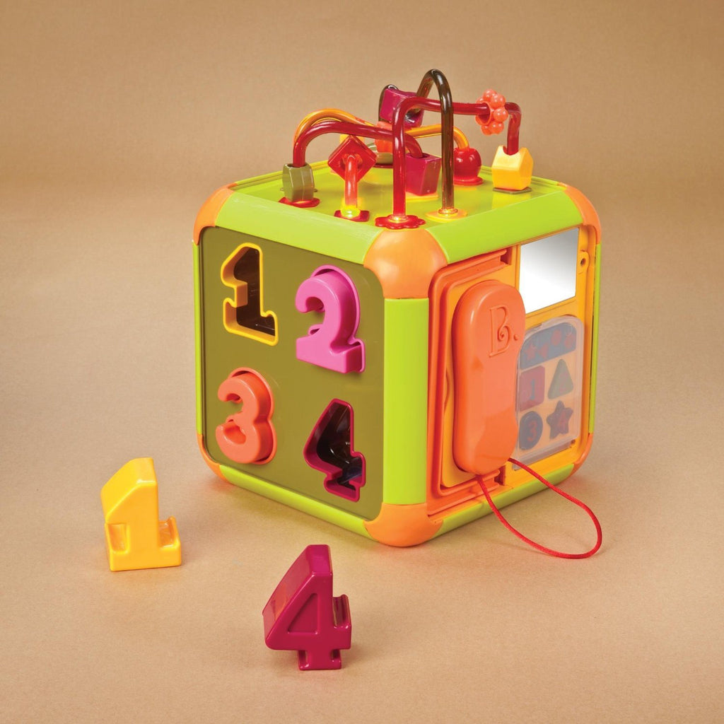 B Times Square Cube Toy. All 8 pieces store inside. Six sides of fun - Handy han - SustainTheFuture - 3