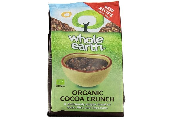 Whole Earth Organic Cocoa Crunch 375 g (Pack of 3) Totally organic and totally tasty, A bowl of crisp, chocolate clusters of oats and rice - SustainTheFuture - 1