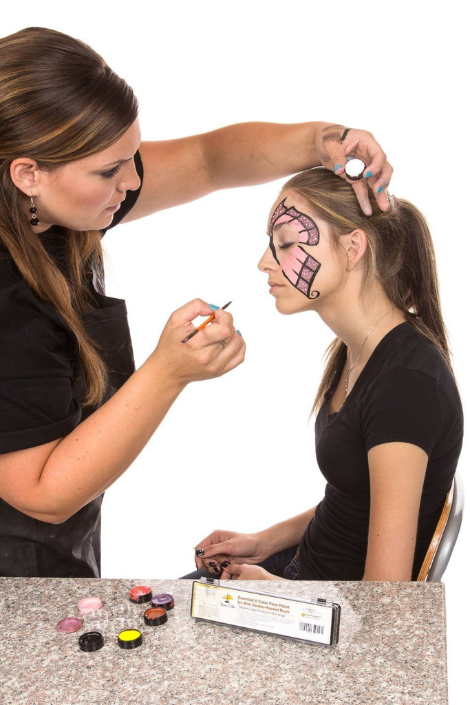 Face Painting Kit - Nontoxic And Irritation-Free - Paint Flags, Superheroes, Ani - SustainTheFuture - 4