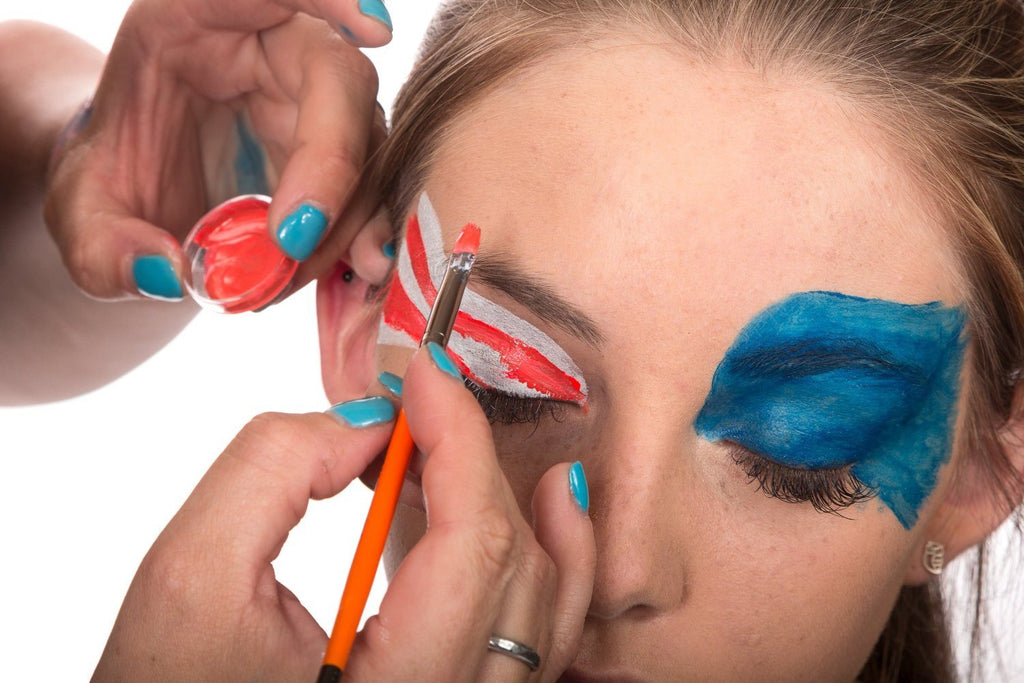 Face Painting Kit - Nontoxic And Irritation-Free - Paint Flags, Superheroes, Ani - SustainTheFuture - 5